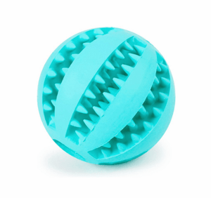 Rubber Treats Ball Tooth Cleaning - Dog Toys