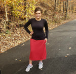 Women's Red Athletic Skirts
