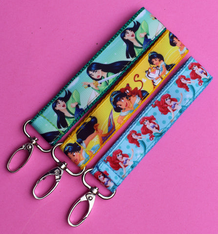 Disney Princess key fobs