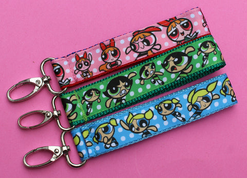 Powerpuff Girls key fobs