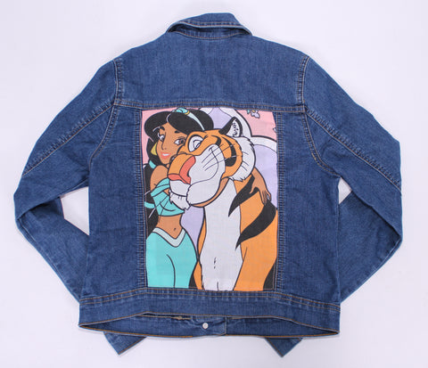 Princess Jasmine kids denim jacket