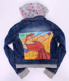 Hercules kids denim jacket