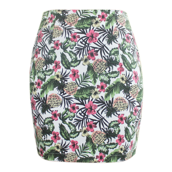 Hawaiian Blossom Skirt