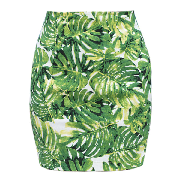 Jungle Monstera Skirt