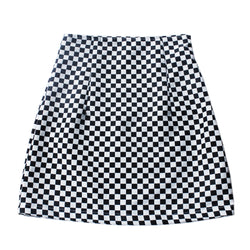 Race Race Checkered Skirt