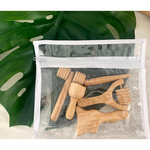 Face Kit (5 piece wooden tools)