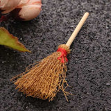Yellow Besom Kitchen Dollhouse Miniature Furniture Accessories For Dollhouse