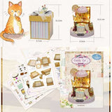 CuteRoom Dollhouse Candy Cat Y-006 DIY Doll House Miniature Kit Gift Collection Decor