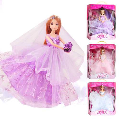 Children's Toys Wholesale 12 Joints Really Eye Pyrene Children Doll High End Dress Gift Box