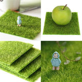 Artificial Faux Garden Turf Grass Lawn Moss Miniature Craft Ecology Decor