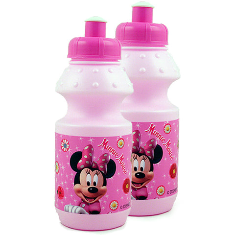 Minnie Mouse Pull-Top Water Bottle [2-Pack]