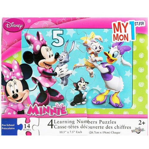 Minnie Mouse My 1st Learning Numbers Puzzle [14 Pieces]