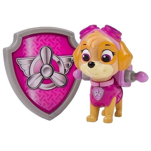 Paw Patrol Action Pack Pup and Badge- Skye