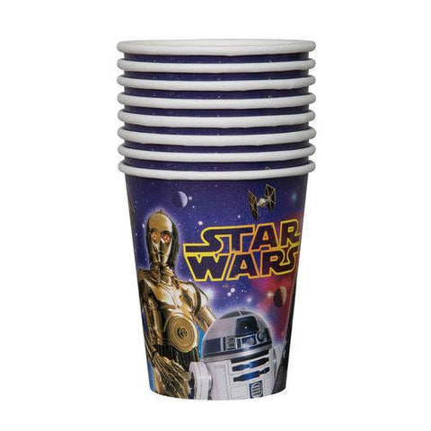Star Wars 9oz Paper Cups [8 Per Pack]