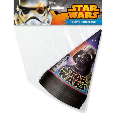 Star Wars Party Hats [8 Per Pack]