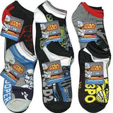 Star Wars Anklet Socks [3 Pack - Size 6-8] - Assorted