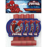 Spider-Man Party Blowouts [8 per Pack]