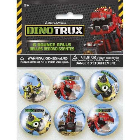 Dinotrux Bounce Balls [6 per Pack]