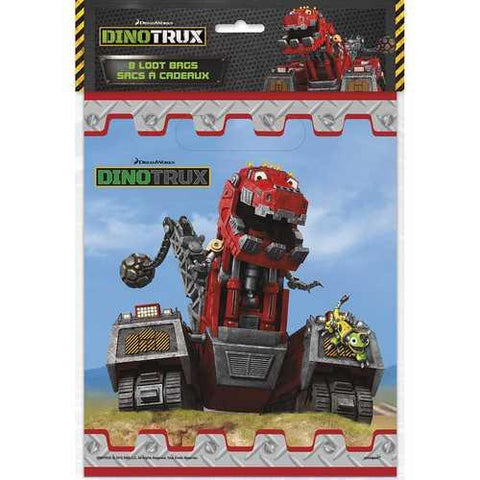 Dinotrux Party Loot Bags [8 per Pack]