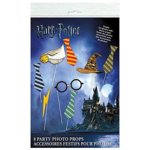 Harry Potter Party Favor Photo Props [8 per pack]