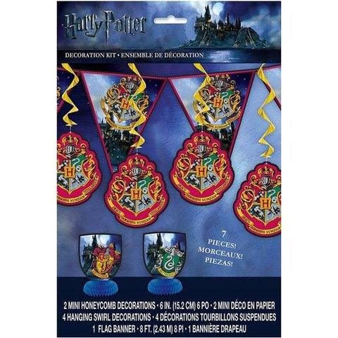 Harry Potter 7-Piece Decoration Kit
