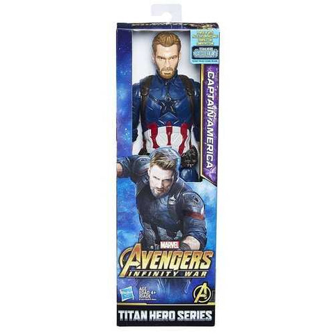 Avengers Infinity War Titan Hero Series 12 Inch Figure [Captain America]