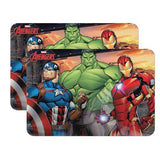 The Avengers Plastic Place Mat Set [2 Pack]