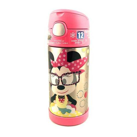 Thermos Funtainer 12 Ounce Bottle - Minnie Mouse