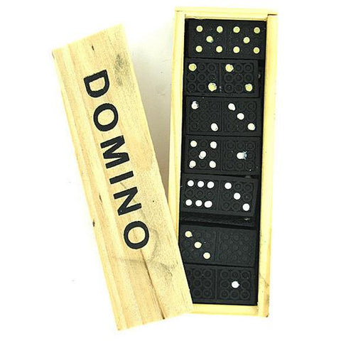 Domino Set in Wooden Box ( Case of 60 )