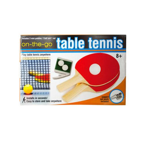Portable Table Tennis Set ( Case of 4 )