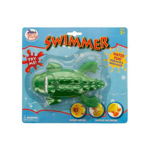 Frog Wind-Up Water Swimmer Toy ( Case of 24 )