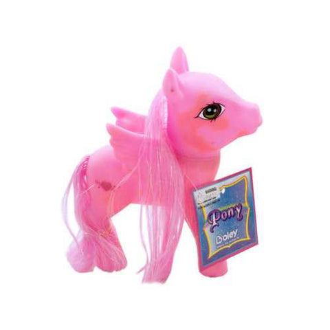Colorful Pony Play Figure ( Case of 48 )