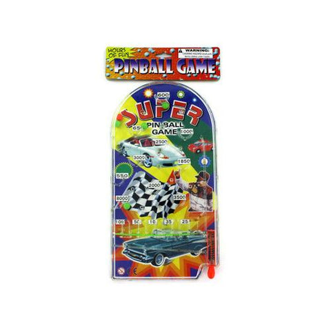 Racing-themed pinball game ( Case of 24 )