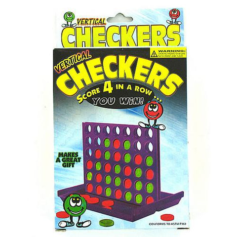 Vertical Checkers Travel Game ( Case of 24 )