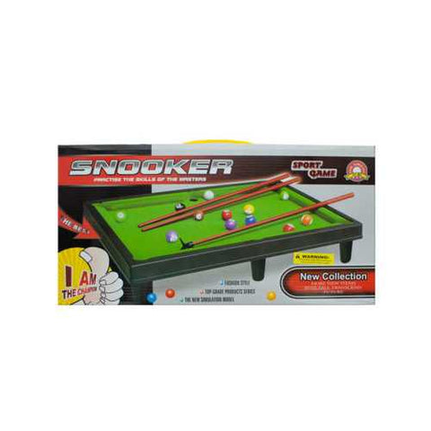 Tabletop Pool Table Game Set ( Case of 6 )