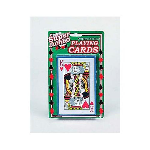Jumbo playing card deck ( Case of 48 )