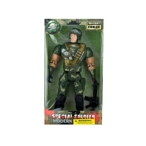 toy soldier doll 2 asst ( Case of 4 )