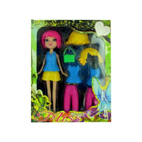 Fashion Changing Doll ( Case of 8 )