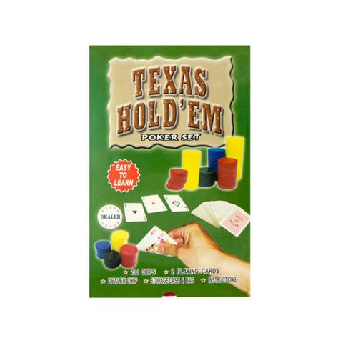 Texas Hold 'Em Poker Set ( Case of 6 )