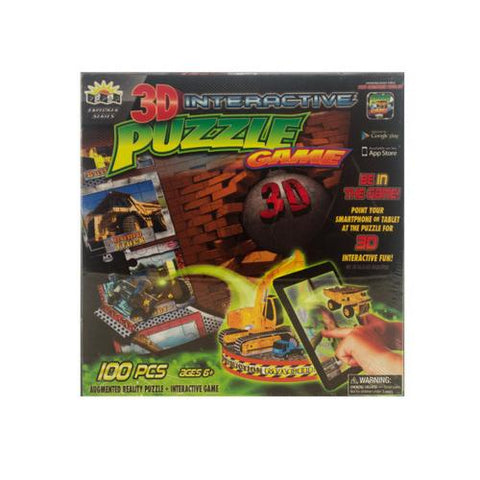 3D Interactive Construction Puzzle Game ( Case of 10 )