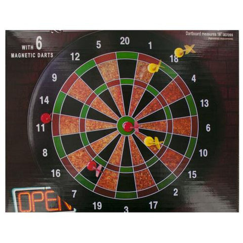 Magnetic Dartboard Game ( Case of 4 )