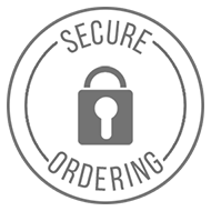 When you order a Koova organizational product for your garage or home, your transaction is 100% secure!