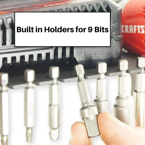 Drill storage rack for your garage or shed - drill holder shelf