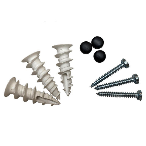 Drywall anchor screws with black covers - Kappet screws - Replacement parts