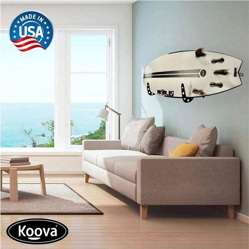Surfboard wall rack - store your surfboard inside