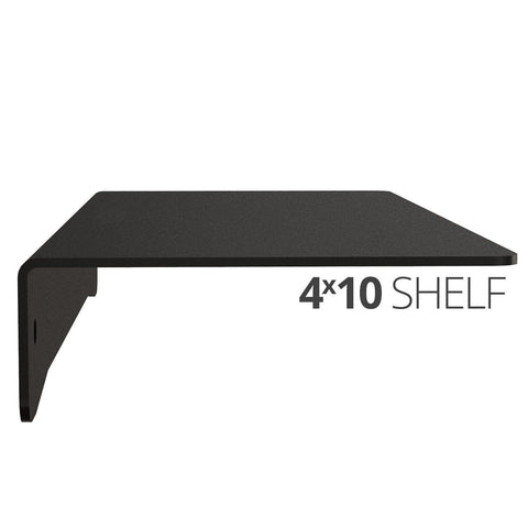 Koova Medium Wall Mount Shelf - 4x10 side