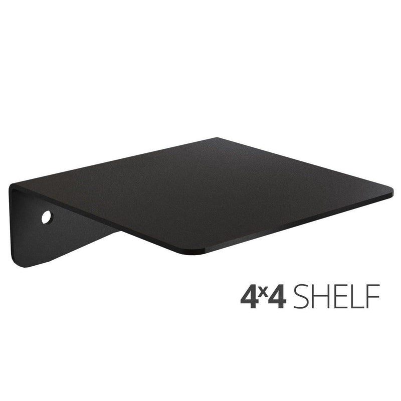 Koova Medium Wall Mount Shelf - 4x4 angle