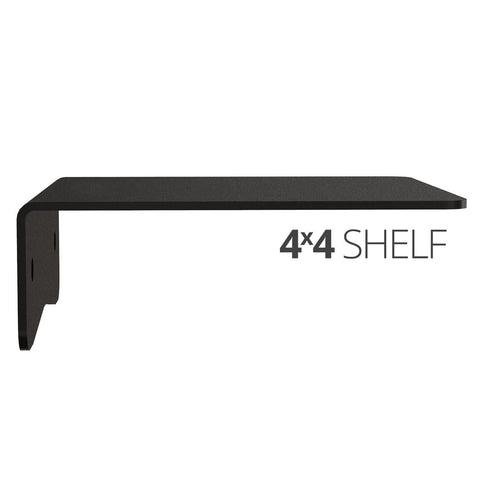 Koova Medium Wall Mount Shelf - 4x4 side