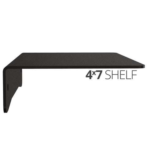 Koova Medium Wall Mount Shelf - 4x7 side