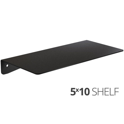 Wall Shelf by Koova for organizing your home or office organization - 5x10 angle